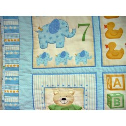 Dětská deka - modrá  - 4