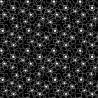 Bavlněná látka - T0060-Black Posies