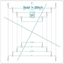 Twist N Stitch Ruler by June Tailor