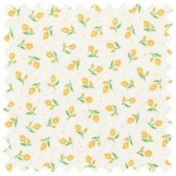 Bavlněná látka - T0077-žluté tulipány Ostatní - 2