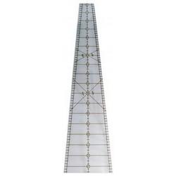 Pravítko na patchwork 10 degree Wedge Ruler 24 in PHILIPS FIBER ART - 2