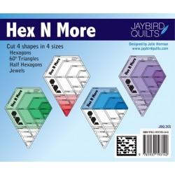 Pravítko na patchwork  Hex N More Ruler Jaybird Quilts - 9