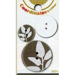 Plastové knoflíčky - Coordinates Serenity