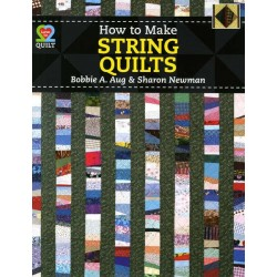How To Make String Quilts American Quilter´s Society - 1