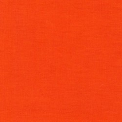 Kona cotton TANGERINE Robert Kaufman - 1