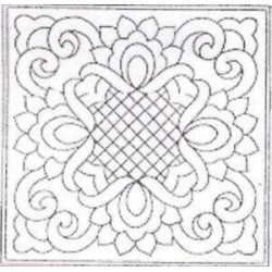 Předtištěný vzor - Ribbons & Lace - bílý  - 1