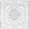 Předtištěný vzor - Ribbons & Lace - bílý