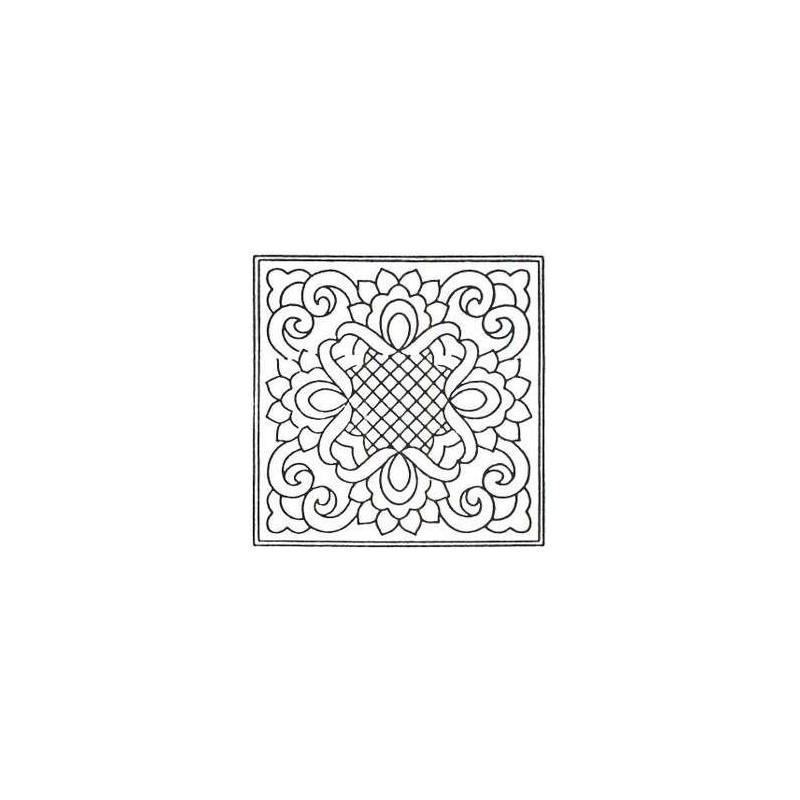 Předtištěný vzor - Ribbons & Lace - přírodní  - 1