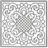 Předtištěný vzor - Ribbons & Lace - přírodní