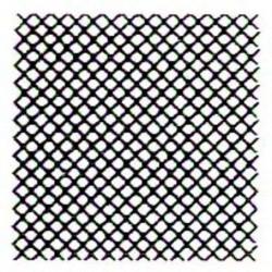 Šablona na quiltování - Grid Background  - 1