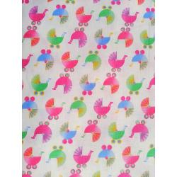 Bavlněná látka T0105-White Stroller Toss Fabri-quilt - 1