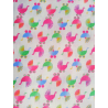 Bavlněná látka T0105-White Stroller Toss