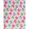 Cotton fabric T0105-White Stroller Toss