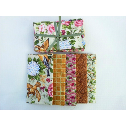 Fat Quarter FLORAL 1 - 5 ks
