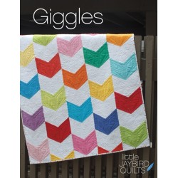 Giggles Baby Quilt Jaybird Quilts - 1