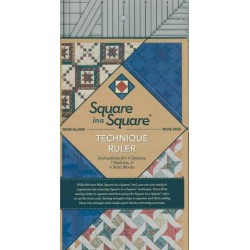 Ruler Square In A Square 6x12 inch