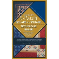 Cross Cut 9-Patch Ruler