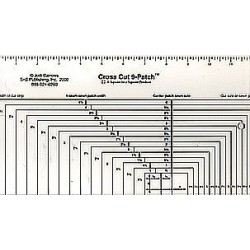 Cross Cut 9-Patch Ruler JODI BARROWS - 2
