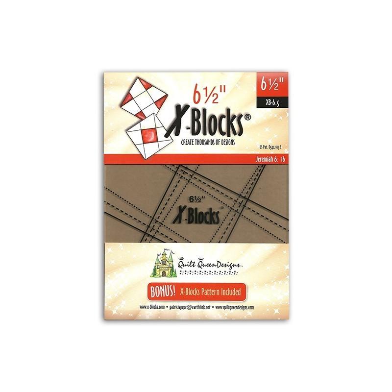 Pravítko X Block Tool 6-1/2in X-BLOCKS BY PATRICIA PEPE - 1