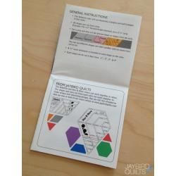 Pravítko na patchwork Sidekick Ruler Jaybird Quilts - 2