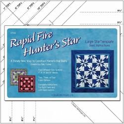 Rapid Fire Hunter Star - Large -  Deb Tucker© STUDIO 180 DESIGN - 1