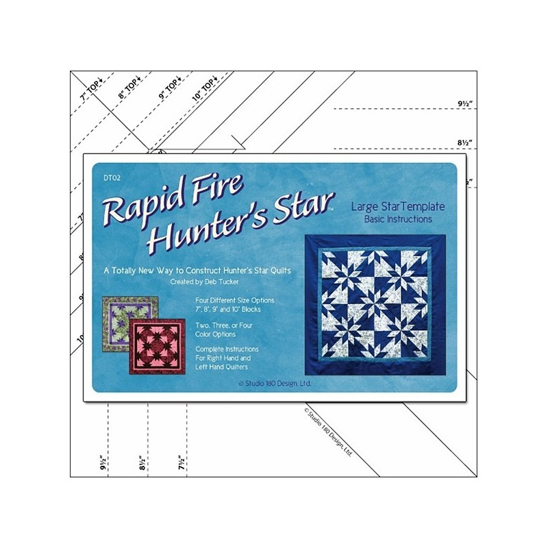 Rapid Fire Hunter Star - Large -  Deb Tucker© STUDIO 180 DESIGN - 1