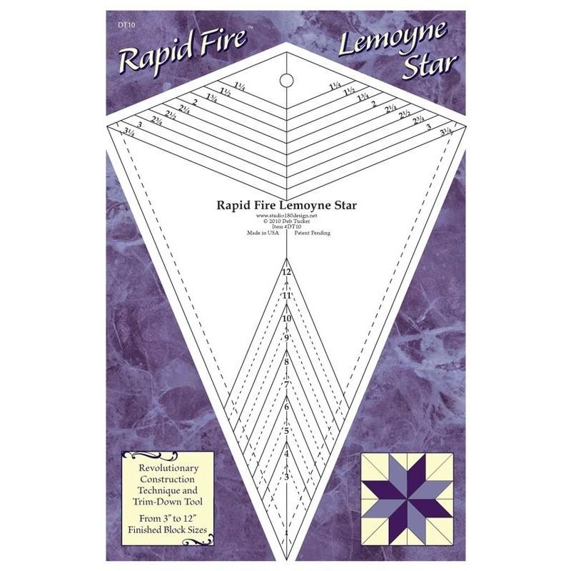 Rapid Fire Lemoyne Star STUDIO 180 DESIGN - 1