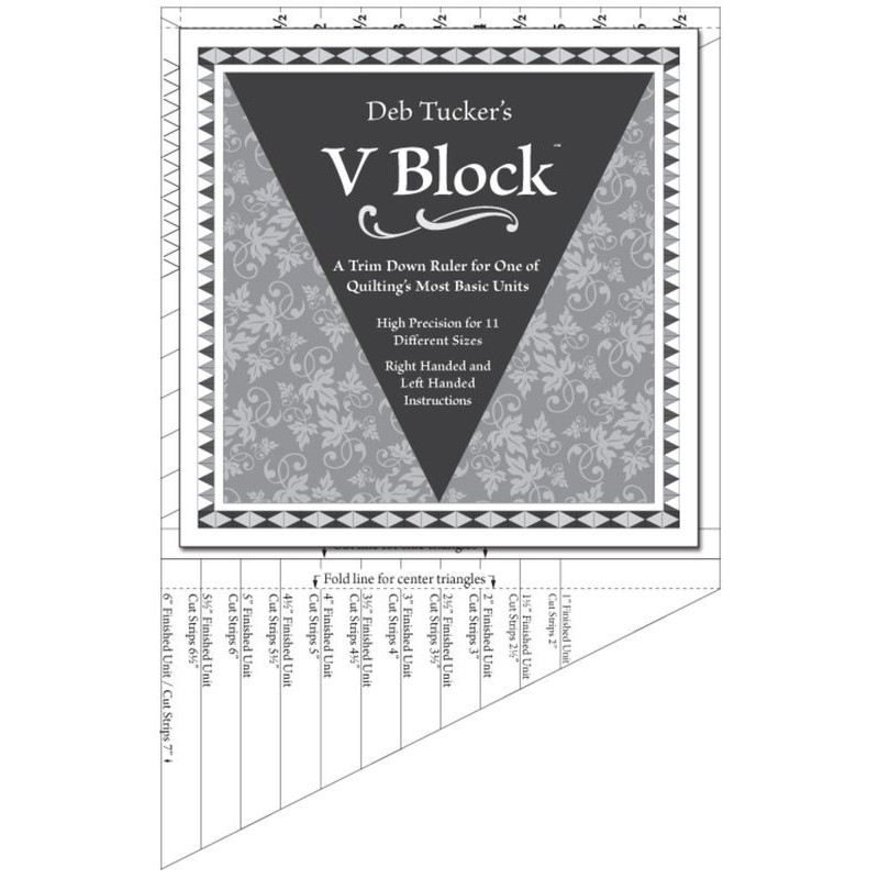 V Block -  Deb Tucker© STUDIO 180 DESIGN - 1