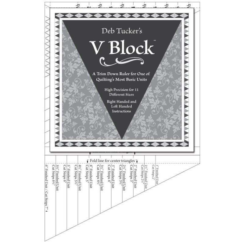 V Block -  Deb Tucker© STUDIO 180 DESIGN - 1