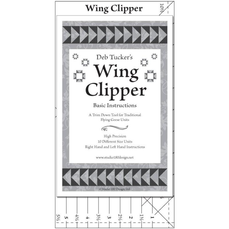 Wing Clipper I -  Deb Tucker© STUDIO 180 DESIGN - 1