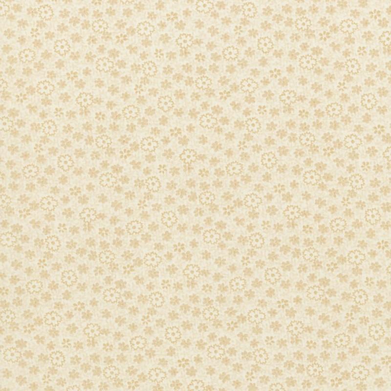 Cream Flora