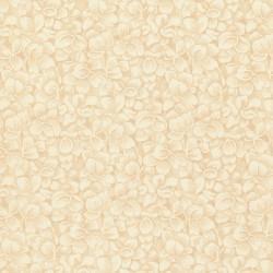 Cream Packed Petals-bavlněná látka