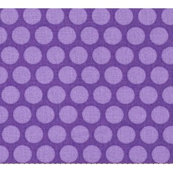TONAL DOTS - PURPLE-cotton fabric