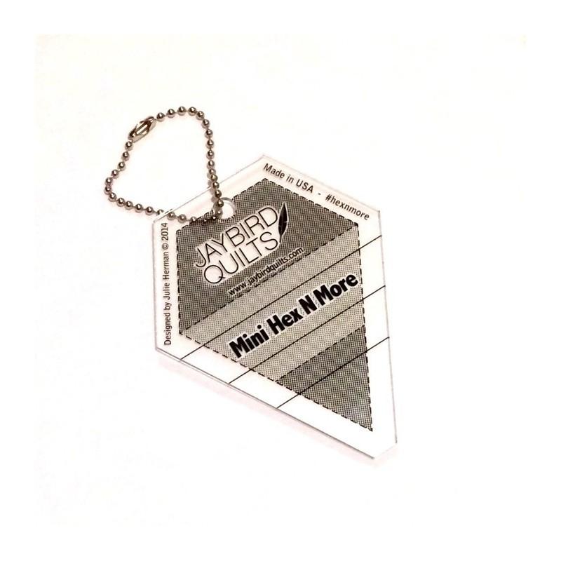 Mini Hex N More Keychain Ruler