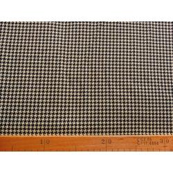 KOHOUTÍ STOPA - ECRU-bavlněná látka STUDIO E - 2