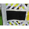 Patchworková deka/přehoz - limetka