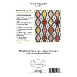Metro Medallion Sew Kind of Wonderful - 2