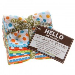 Fat Quarter Spot On Summer Colors-10 ks