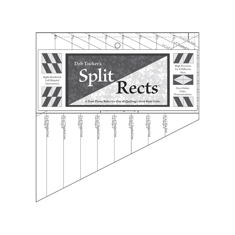 Split Rects -  Deb Tucker© STUDIO 180 DESIGN - 1