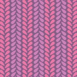Wildberry Knit Stitch-tkanina bawełniana