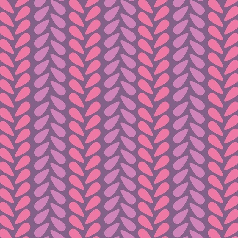 Wildberry Knit Stitch