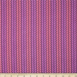 Wildberry Knit Stitch