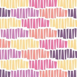 Wildberry Tessellation-bavlněná látka
