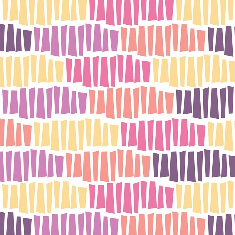 Wildberry Tessellation-bavlněná látka CAMELOT FABRICS - 1