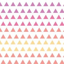 Wildberry-Dreieck Farbverlauf-Baumwoll-Stoff