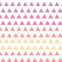 Wildberry Triangle Gradient-cotton fabric