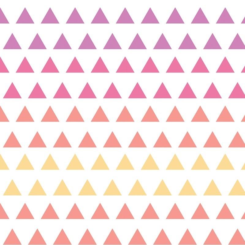 Wildberry Triangle Gradient
