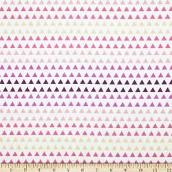 Wildberry Triangle Gradient-bavlněná látka CAMELOT FABRICS - 2