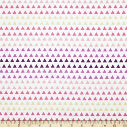 Wildberry Triangle Gradient-bavlněná látka CAMELOT FABRICS - 2