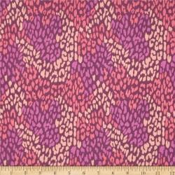 Wildberry Leopard-bavlněná látka CAMELOT FABRICS - 2